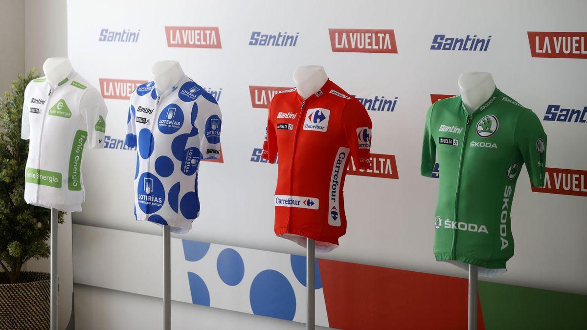 Maillots de La Vuelta a España 2021