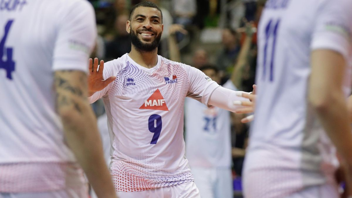 Earvin Ngapeth, la star du volley français.