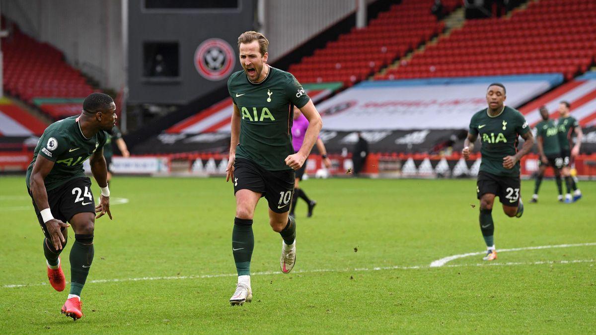 Harry Kane Sheffield United Tottenham