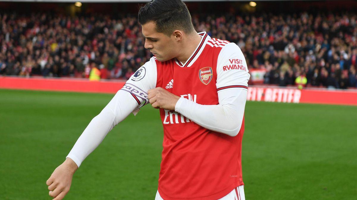 Arsenal captain Granit Xhaka