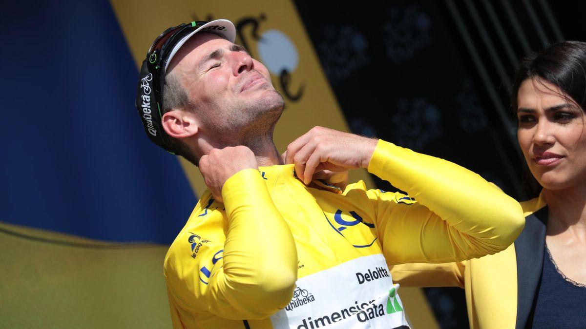 Mark Cavendish, enfin en jaune sur le Tour !