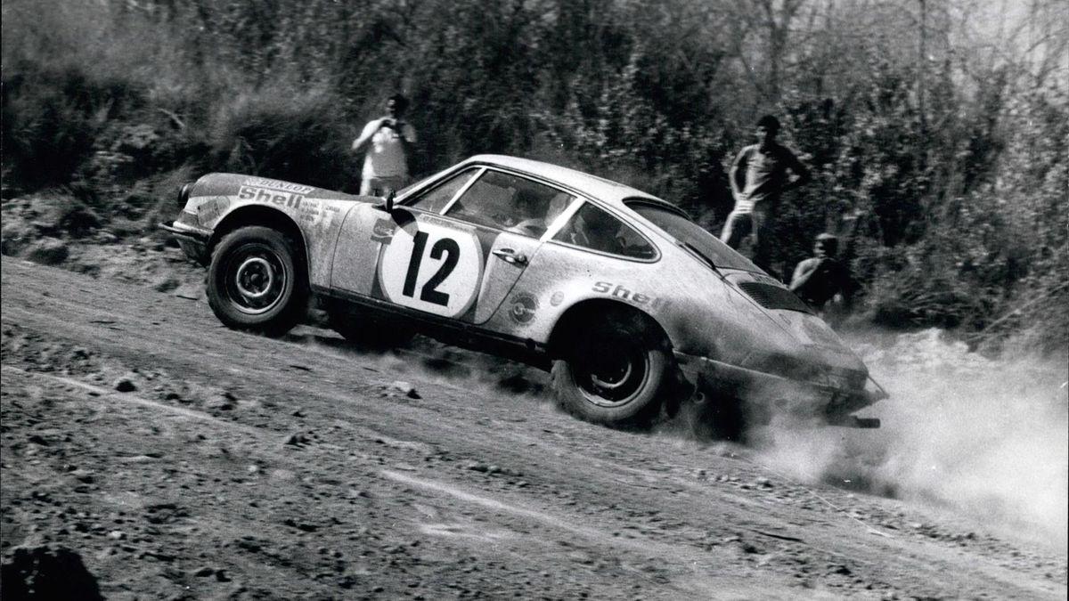 African Safari Rally 1972: Zasada mit seinem Porsche 911 S