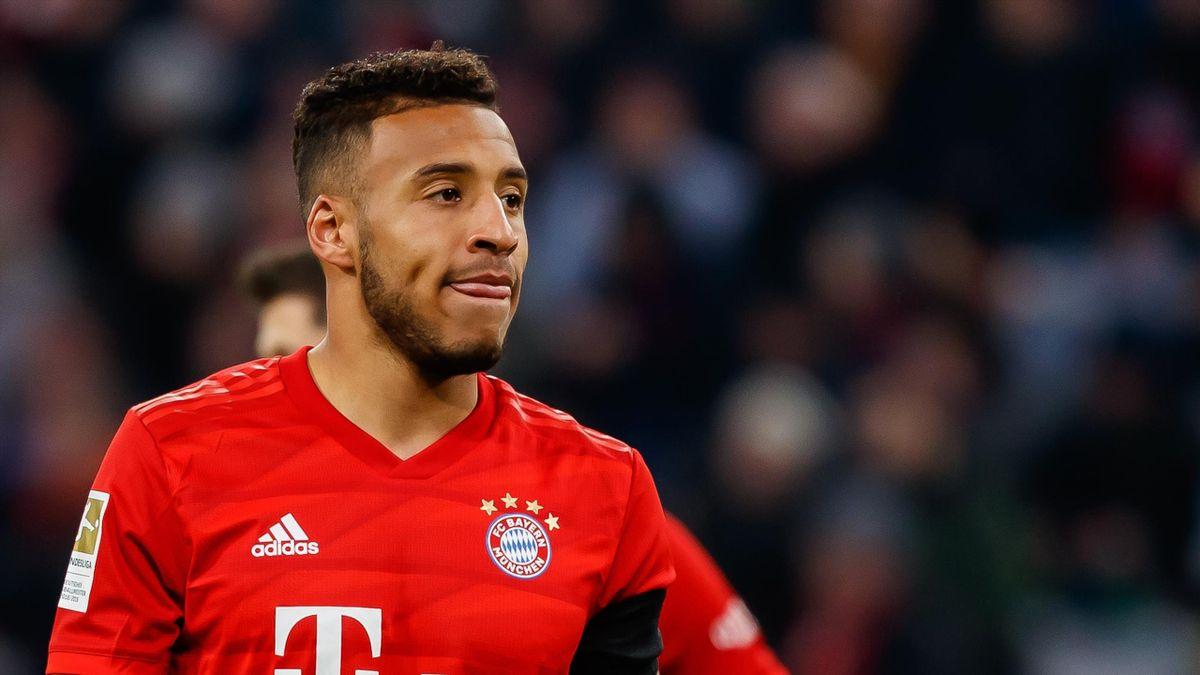 Bayern : Coman et Tolisso oublient les mesures et s'enlacent à leurs  retrouvailles à l'entraînement - Eurosport
