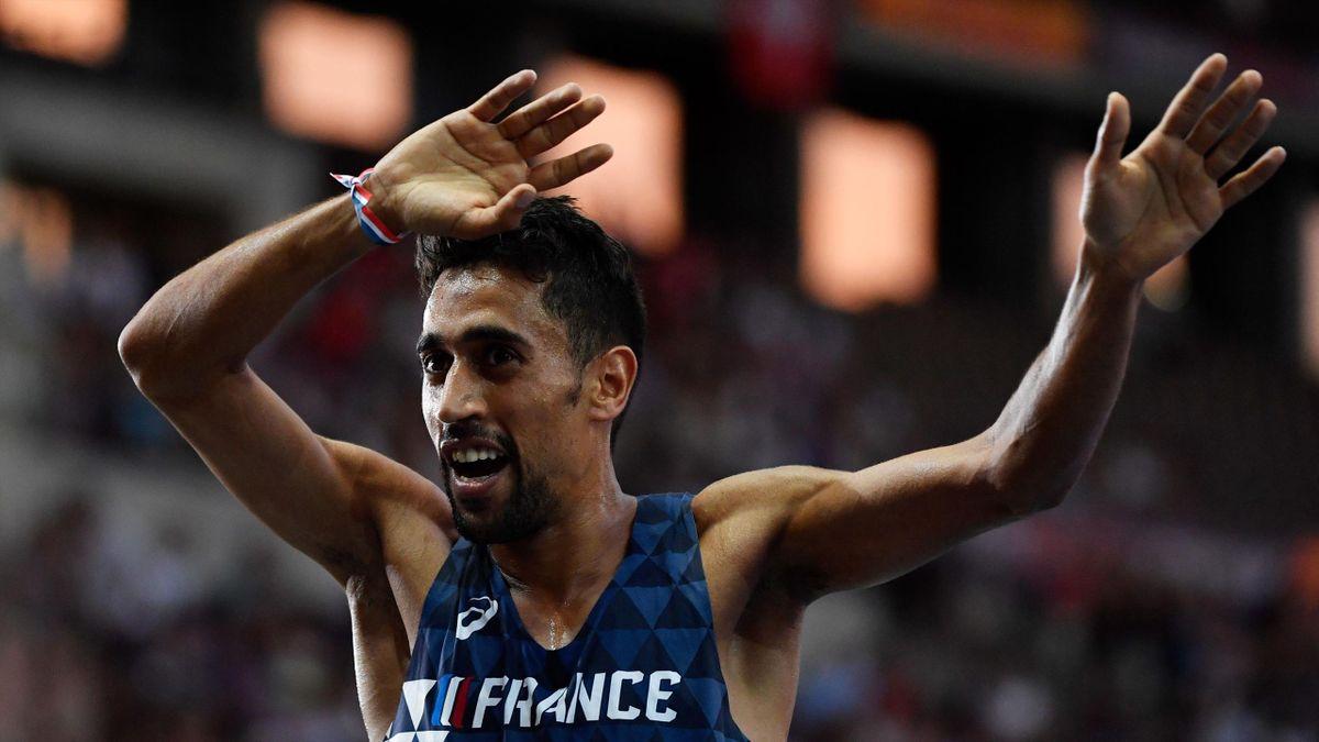 Morhad Amdouni, sacré champion d'Europe du 10 000m à Berlin