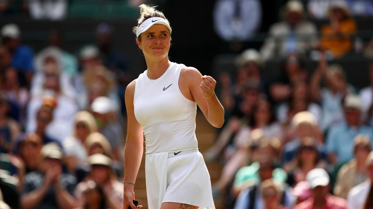 Elina Svitolina à Wimbledon en 2019