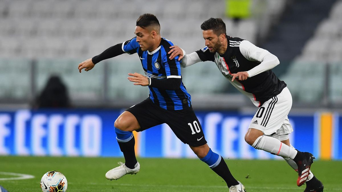 Lautaro Martinez, Rodrigo Bentancur, Juventus-Inter, Serie A 2019-20, Getty Images