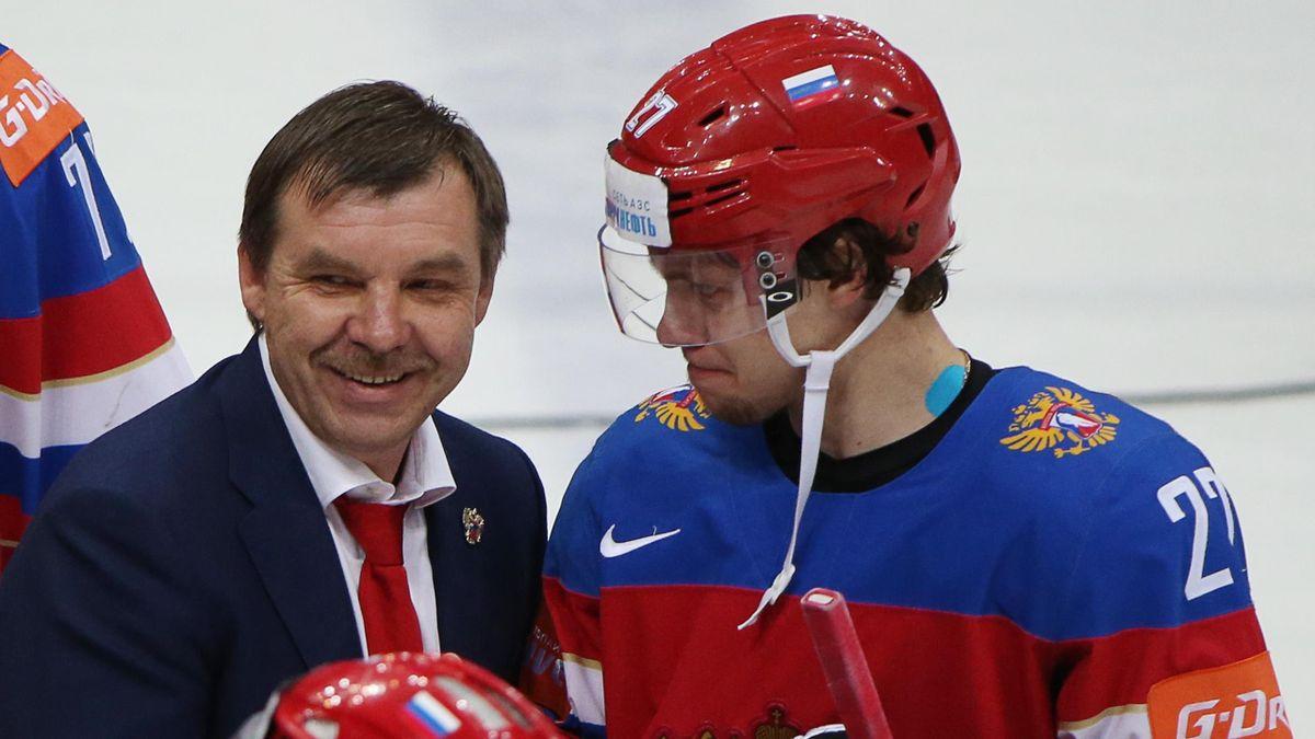 Олег Знарок и Артемий Панарин