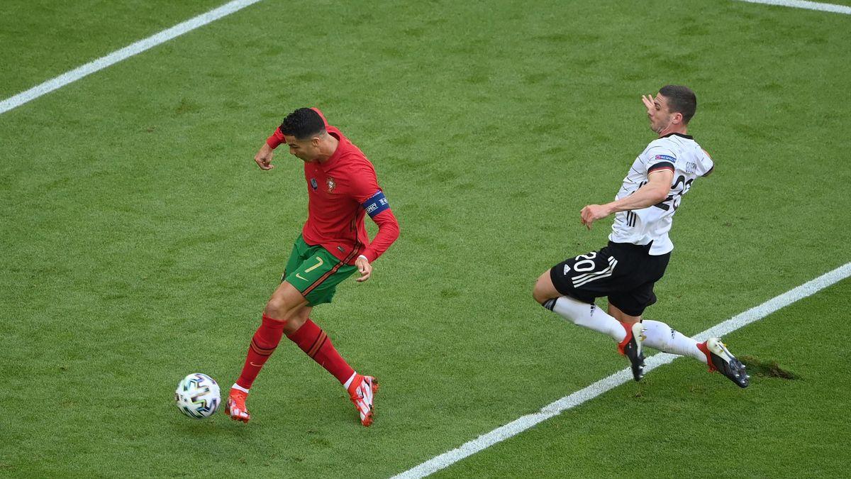 Cristiano Ronaldo a marcat după o cursă demnă de un atlet împotriva Germaniei