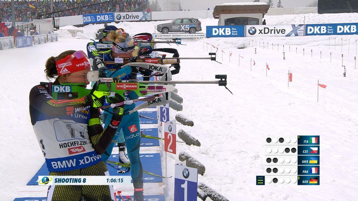 Biathlon - Hochfilzen : Women 4x6km Relay