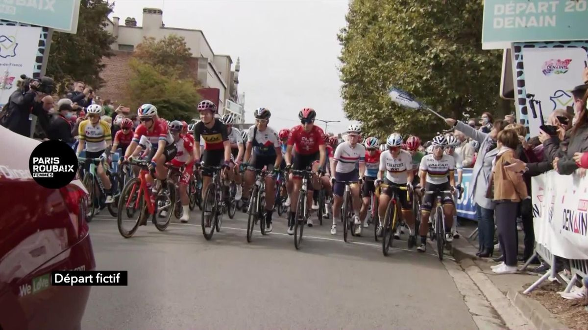 Parijs - Roubaix | Samenvatting van de eerste keer met vrouwen over de kasseien