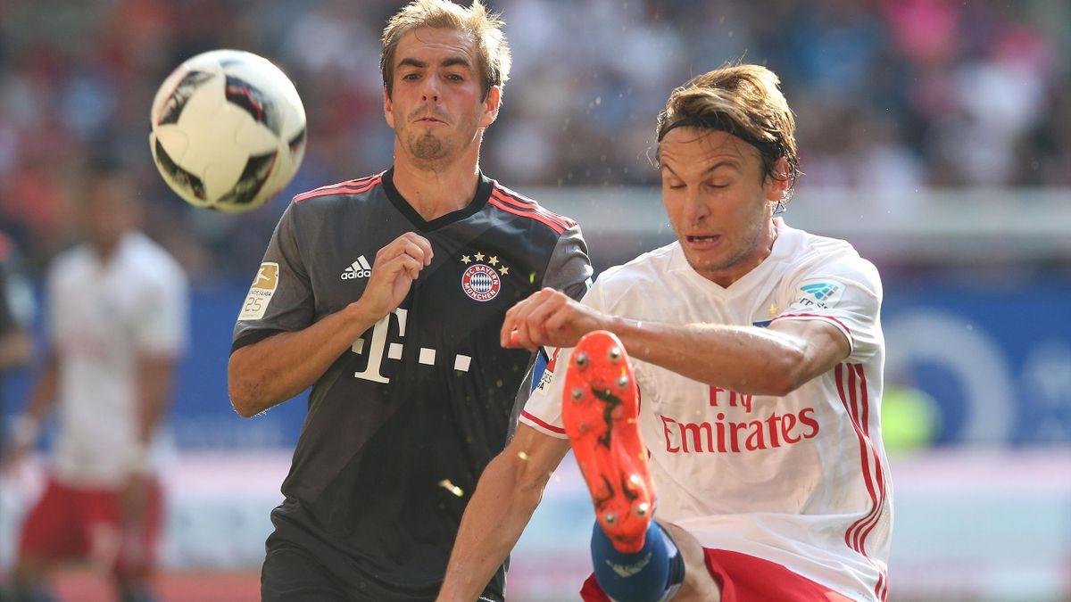 Bayern setzte sich gegen den HSV durch