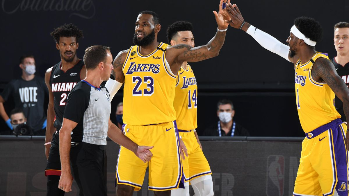 LeBron James, Lakers-Heat, NBA Finals 2020