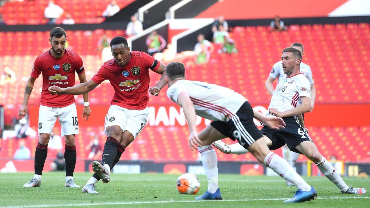 Premier League | Manchester United - Sheffield 3-0, după un hat-trick reușit de Martial