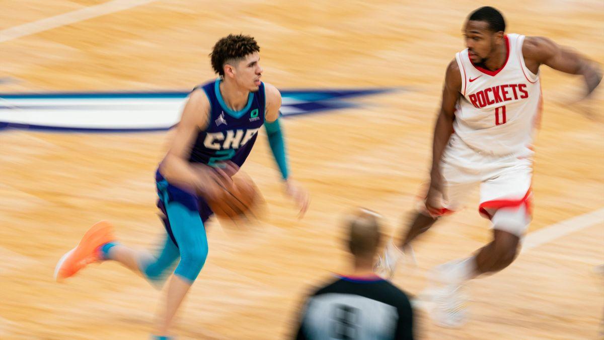 LaMelo Ball (Hornets), décisif face aux Rockets
