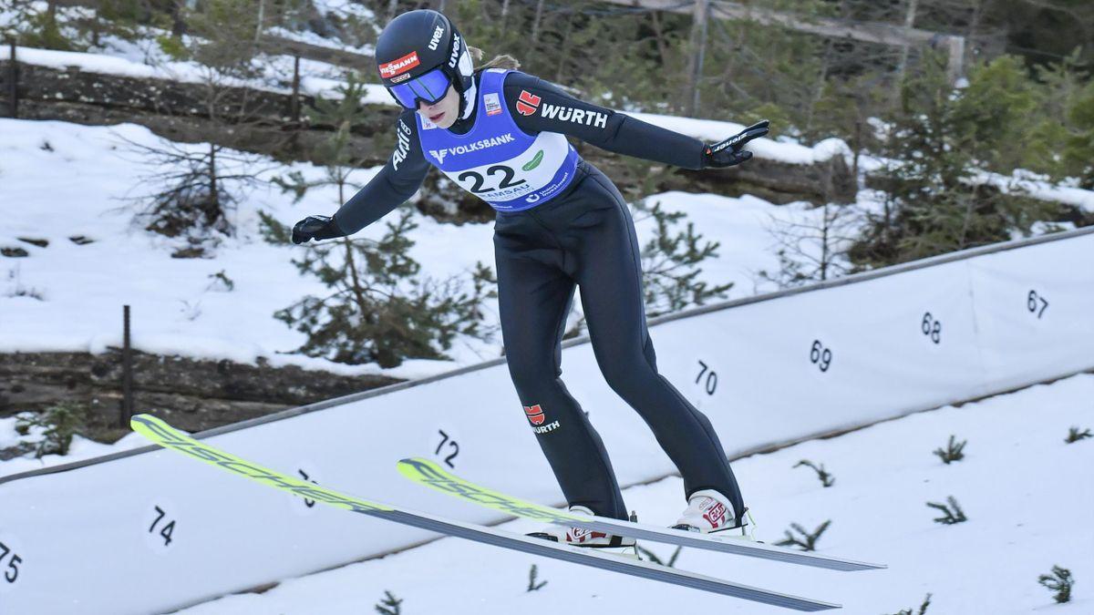 Jenny Nowak war in Ramsau beste Deutsche
