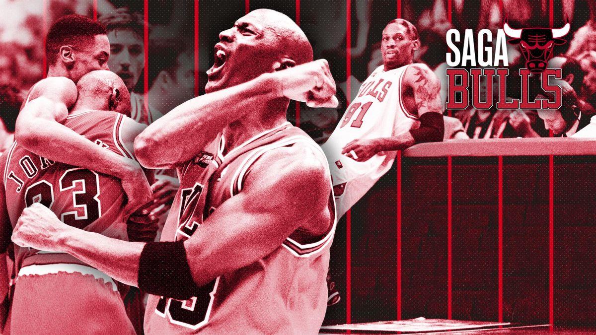 La saga Chicago Bulls, 1995-1998