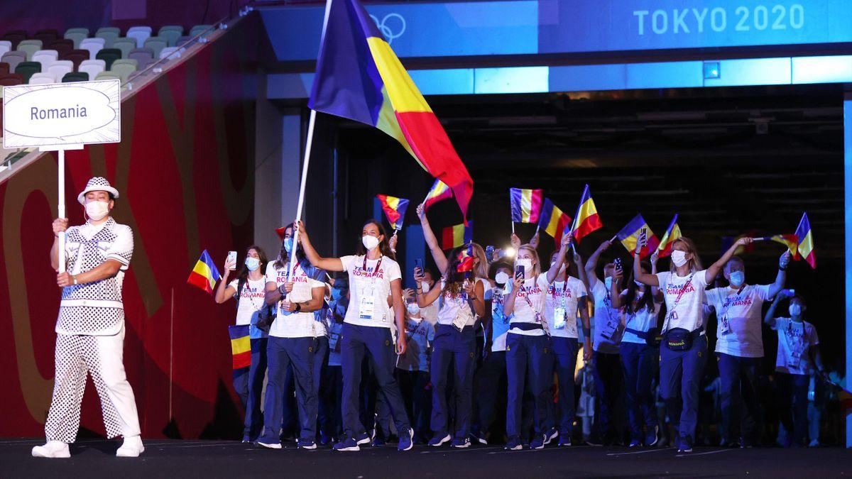 România, la ceremonia de deschidere a Jocurilor Olimpice de la Tokyo