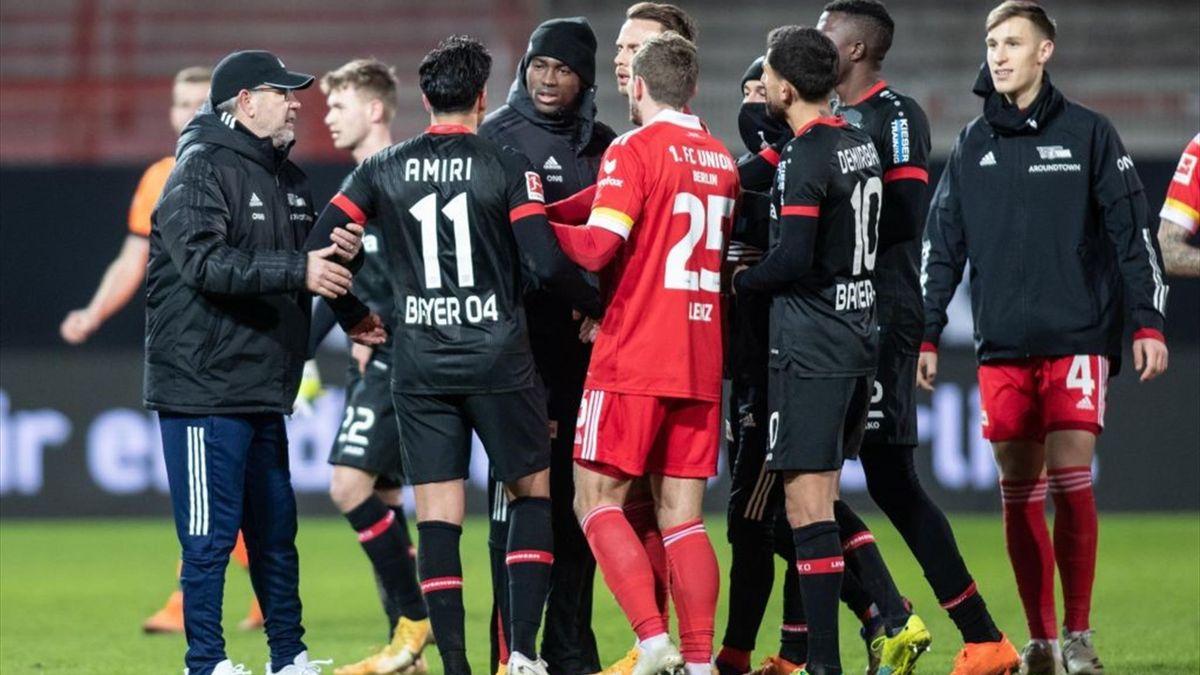 Nadiem Amiri soll beim Spiel in Berlin rassistisch beleidigt worden sein