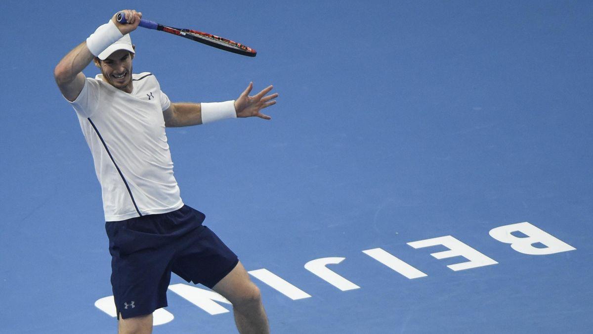 L'Ecossais Andy Murray, au tournoi de Pékin.