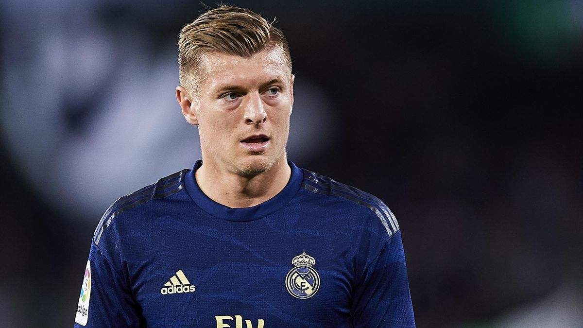 Toni Kroos in action for Real Madrid