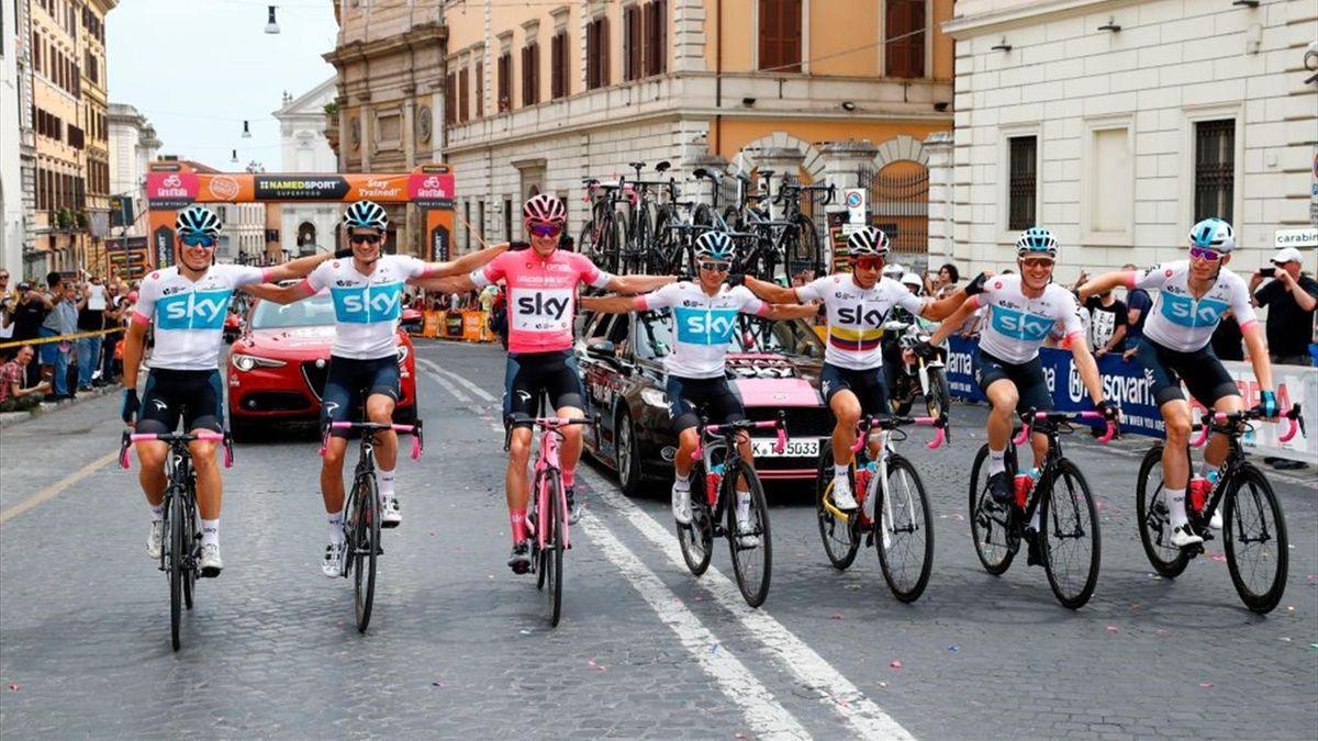 Chris Froome, Team Sky - Giro d'Italia 2018 - Getty Images