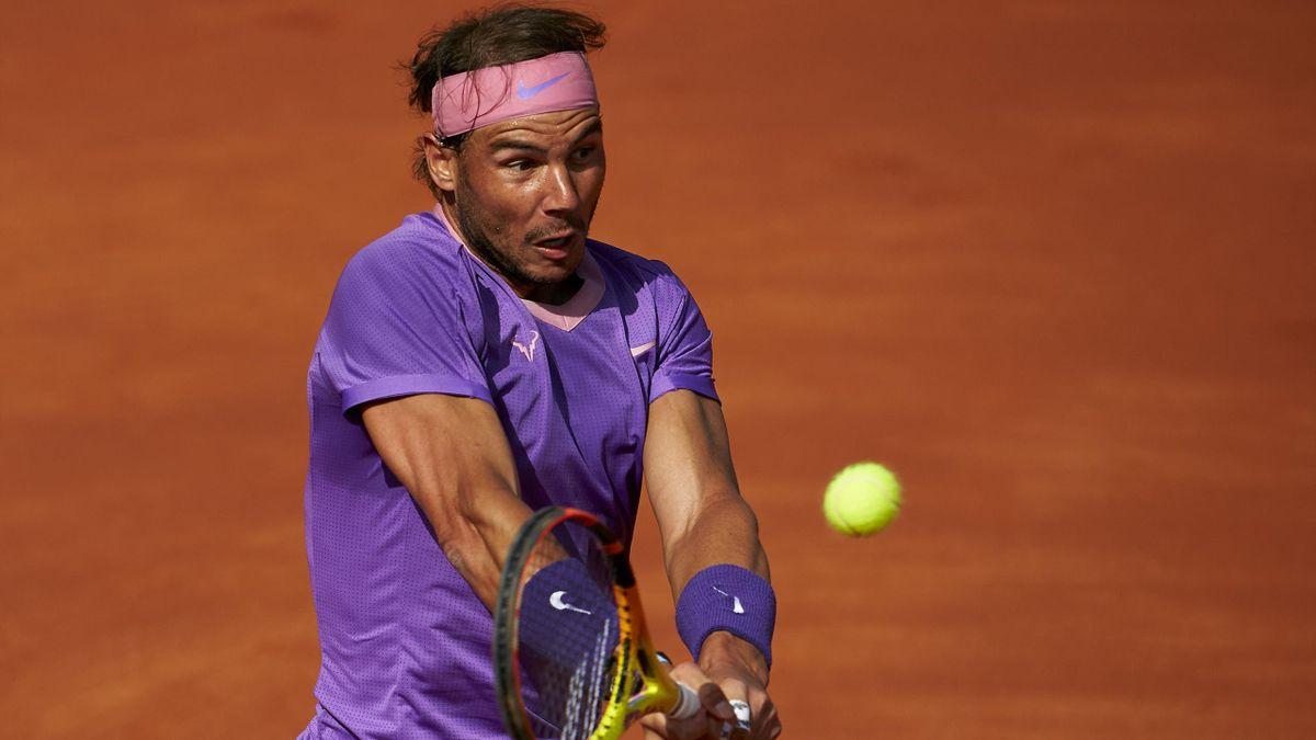 Rafa Nadal en la final del torneo Conde de Godó (ATP 500 Barcelona)