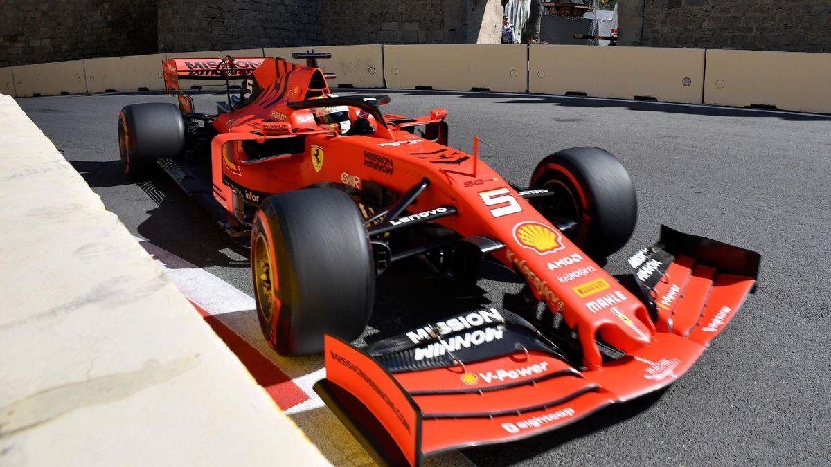 Sebastian Vettel (Ferrari) - GP of Azerbaidjan 2019