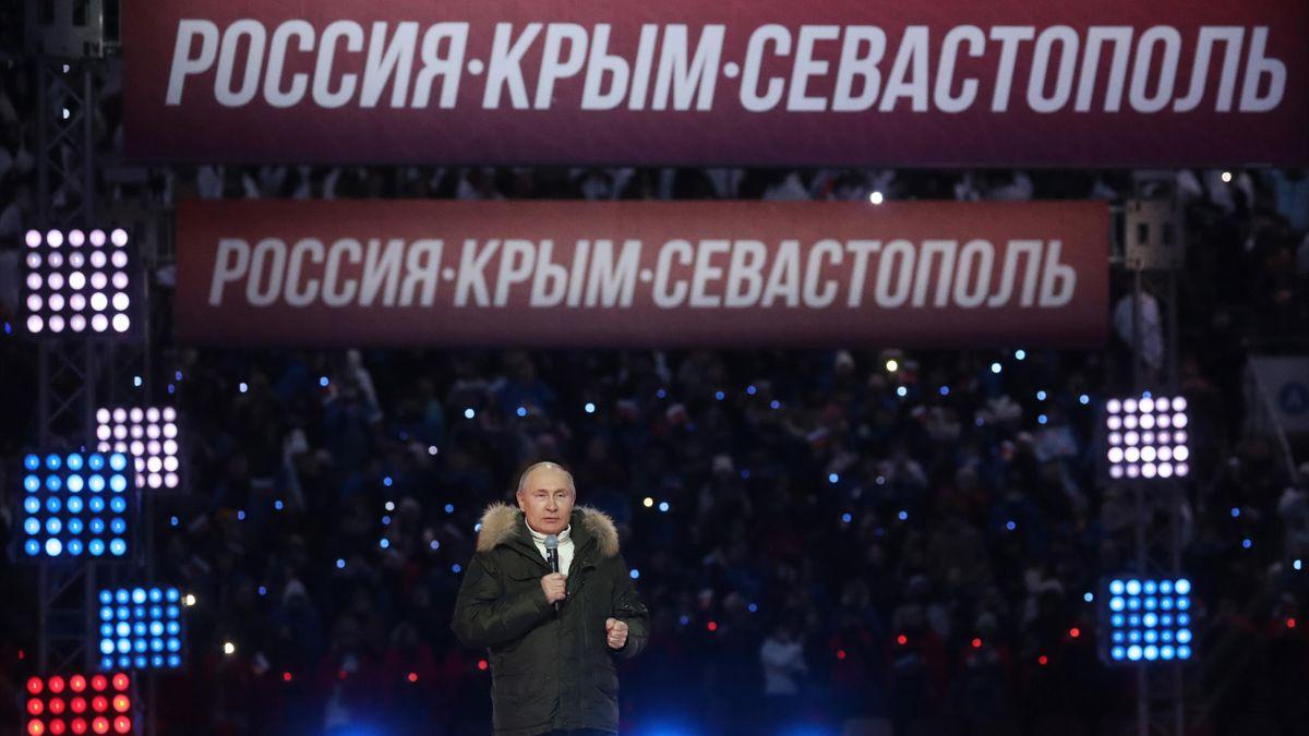 Президент России Владимир Путин, «Россия. Крым. Севастополь»