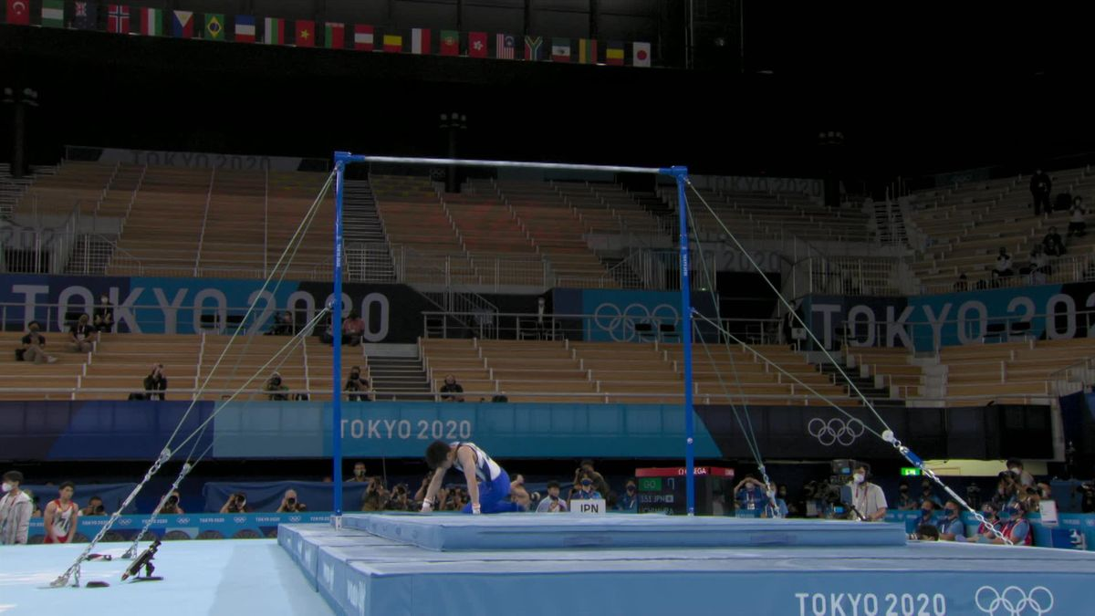 Heartbreak for Japanese legend Uchimura with crash in final Olympics
