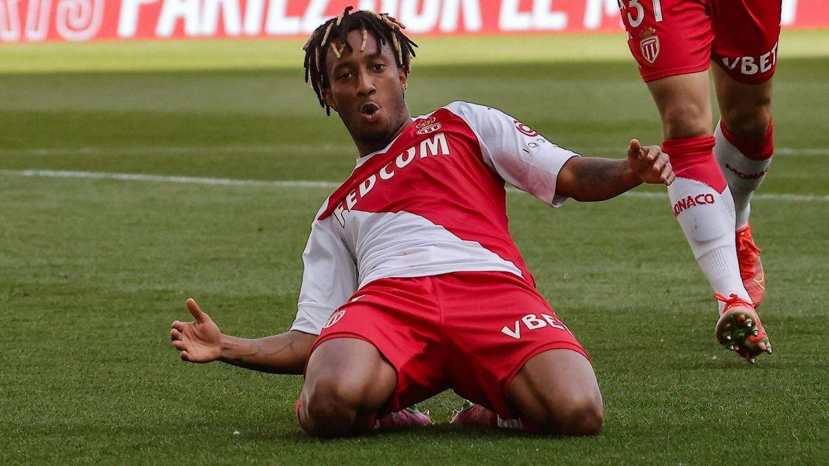 Gelson Martins (AS Monaco) a marqué contre Bordeaux - Ligue 1