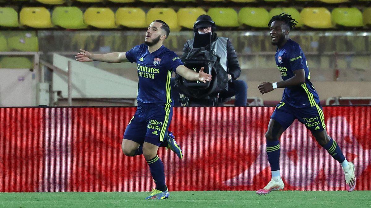 Rayan Cherki (Olympique Lyonnais) offre la victoire à Lyon face à Monaco en Ligue 1