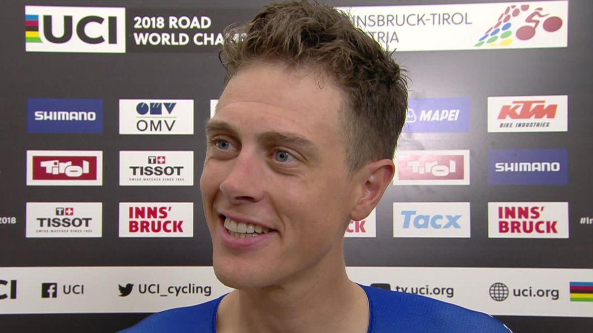 UCI Road World Championship - Interview Niki Teresta