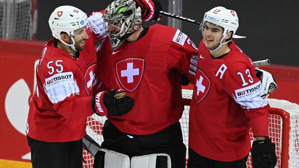 Die Schweiz siegt im Eishockey