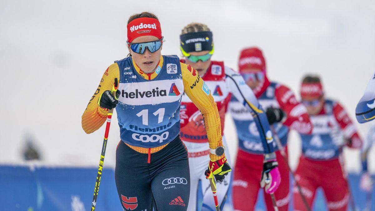 Katharina Hennig gilt bei der Nordischen Ski-WM in Oberstdorf als größte deutsche Medaillenhoffnung im Skilanglauf