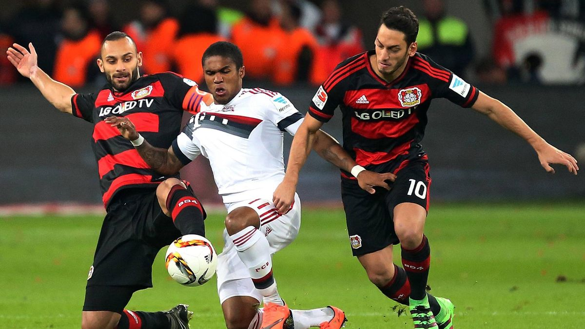 Bayer Leverkusen gegen FC Bayern München