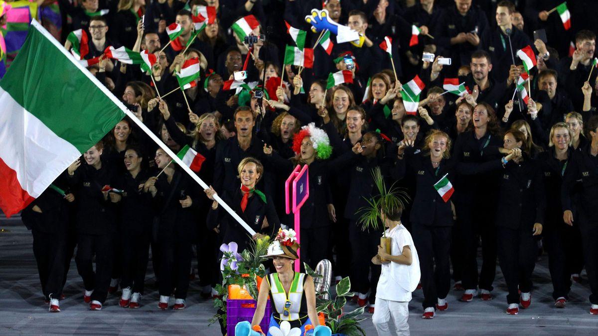 Federica Pellegrini portabandiera a Rio 2016
