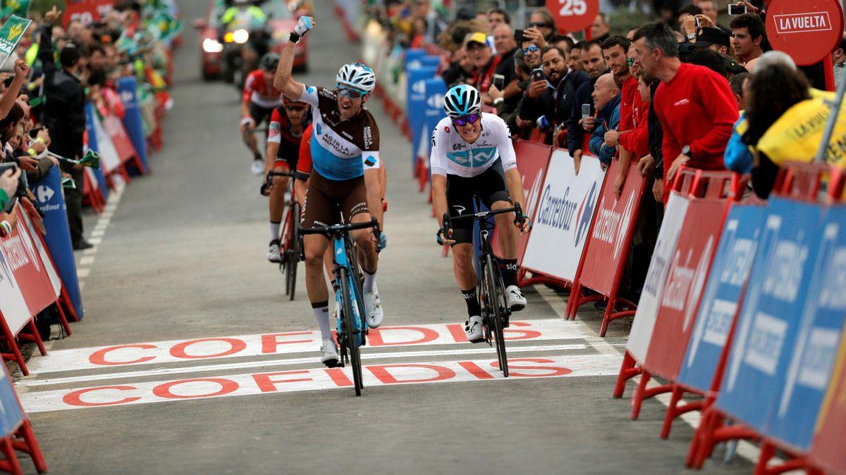 Alexandre Geniez y Dylan Van Baarle, Vuelta 2018