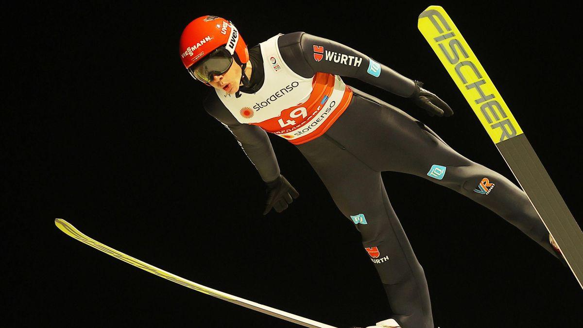 Constantin Schmid ist der vierte deutsche Springer von der Normalschanze