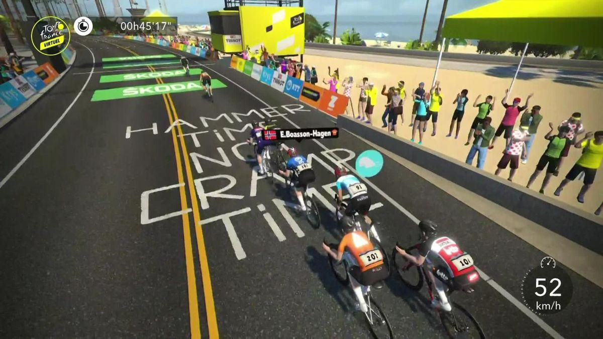 Virtual Tour de France: Stage 1 - Finish Men Race