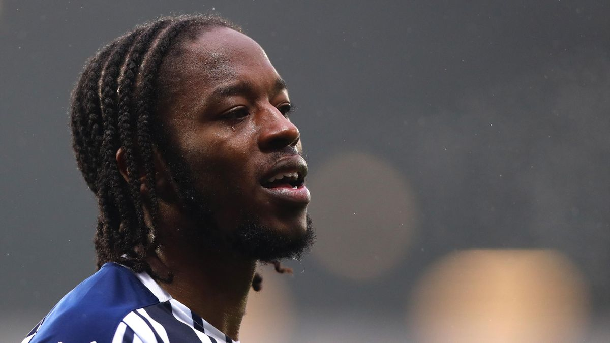 West Brom midfielder Romaine Sawyers was a target of racist abuse in January