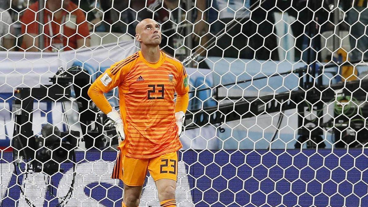 Caballero - Argentina-Croatia - 2018 FIFA World Cup Russia group D - Imago pub not in UK