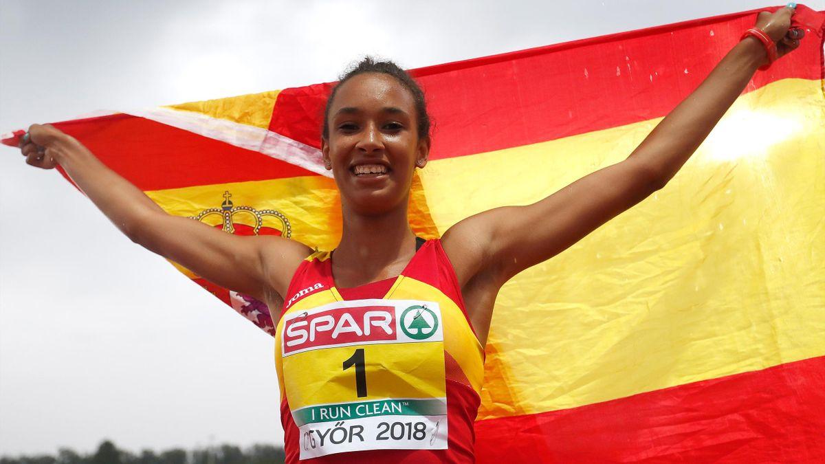 María Vicente consigue el oro en Gyor 2018