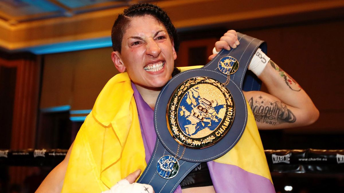 Miriam Gutiérrez, campeona de Europa de peso ligero