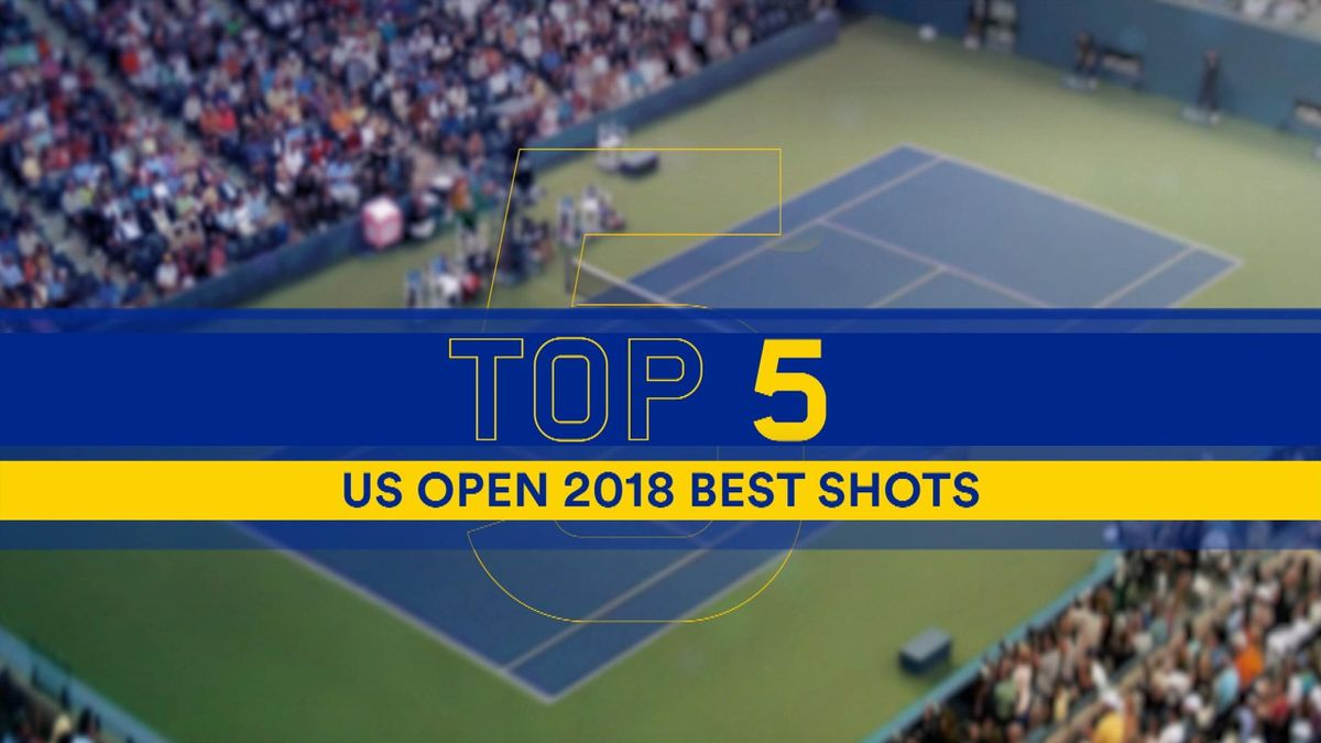 US OPEN Day 1 : Top 5