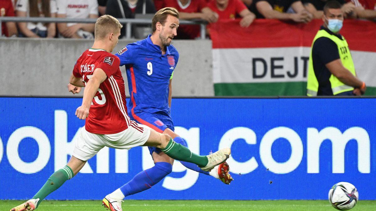 Ungheria-Inghilterra, Harry Kane