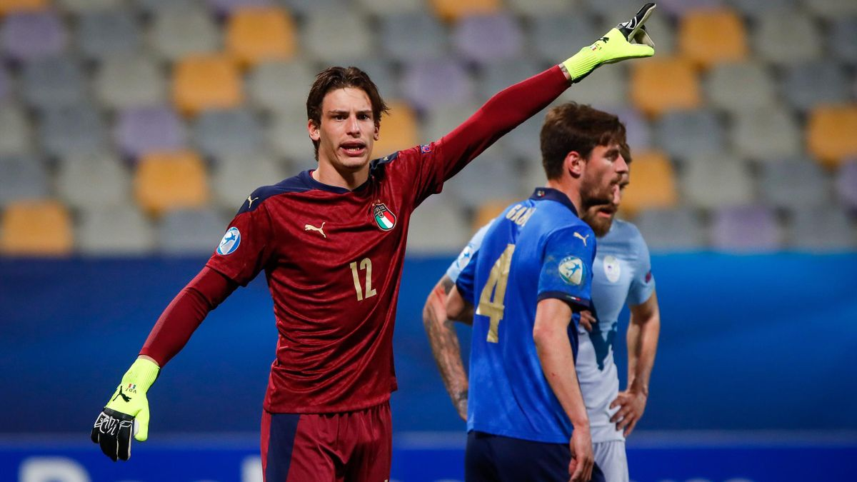Marco Carnesecchi, Europei U21, Italia-Slovenia