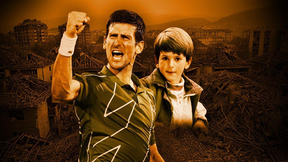 Novak Djokovic - Grand Récit. (Visuel Quentin Guichard)