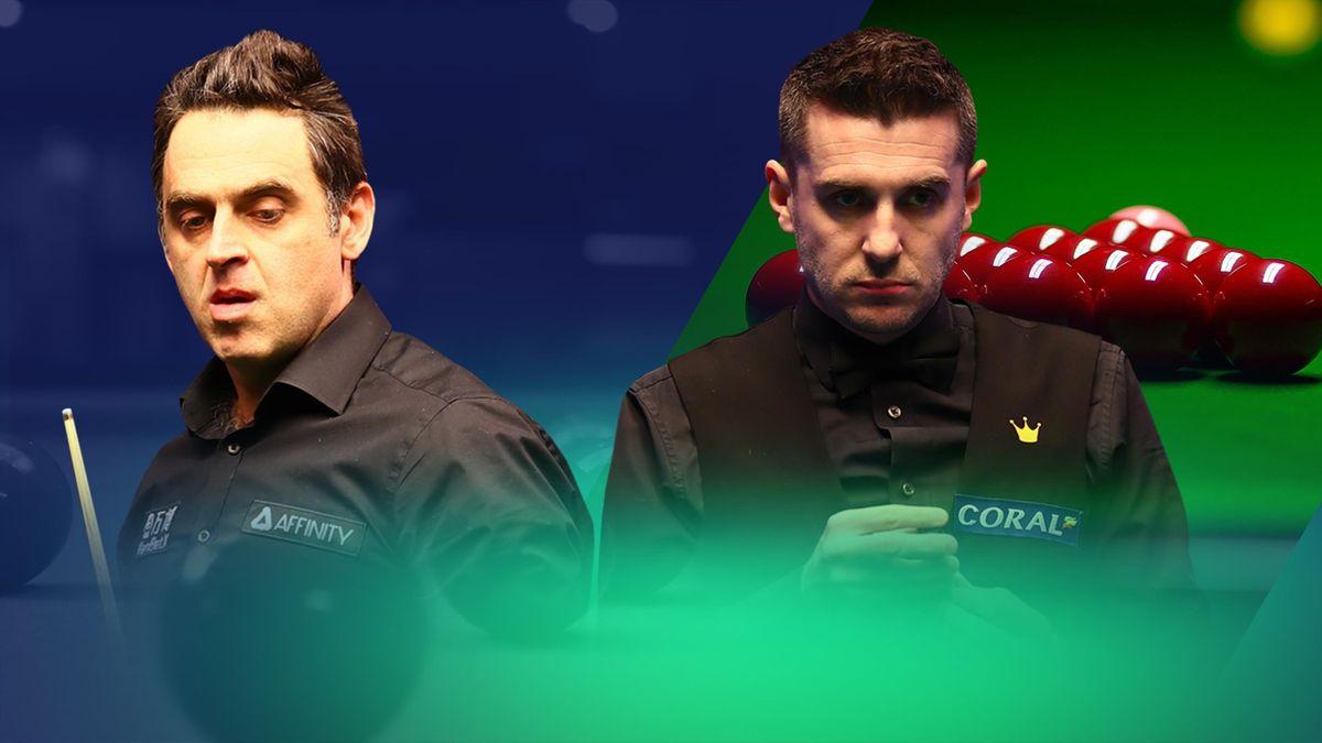 Ronnie O'Sullivan – Mark Selby, în semifinalele Campionatului Mondial de Snooker