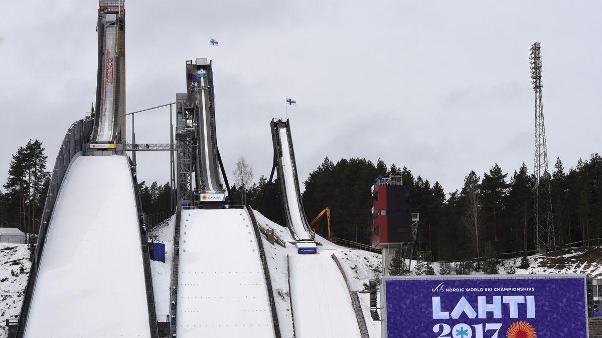 Die Schanzen in Lahti mussten leer bleiben