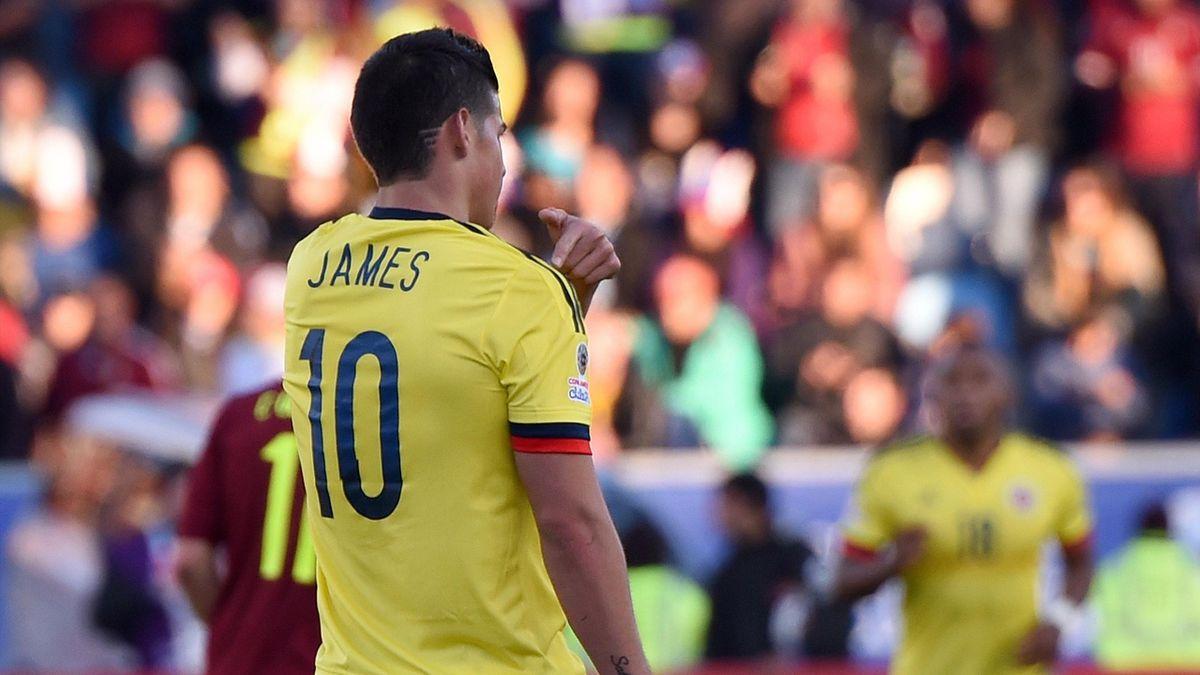 James Rodriguez - Colombia v Venezuela - Copa America 2015